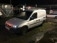 Vauxhall combo crew van 5 seater SWAP FOR BIKE OR QAUD