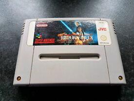 Super Return Of The Jedi Super Nintendo snes