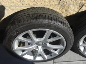 "Audi 19"" alloys"