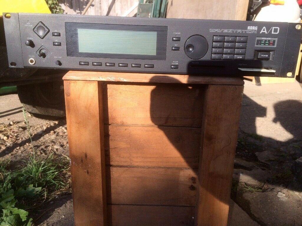Korg Wavestation A/D rack mount