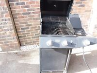 Gas bbq with side burner for sale
