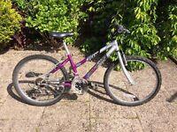 2 older girls' bikes. Excellent condition. £50 each.