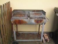 Half Barrel BBQ