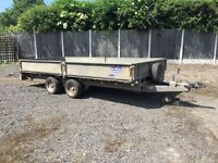 Ifor Williams LM146 Flatbed Trailer With Sides - 3500kg