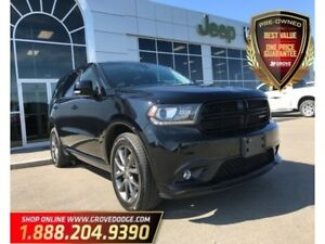 2017 Dodge Durango GT| Low KM| AWD| Leather| DVD| Sunroof