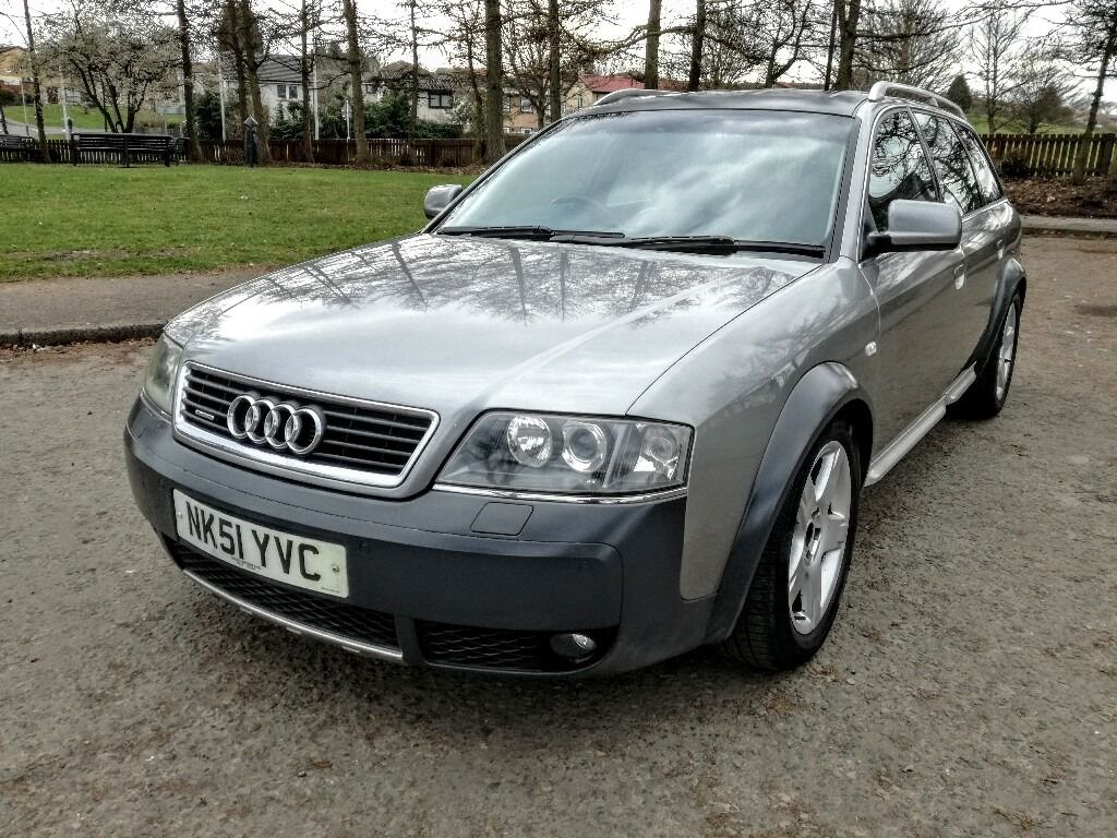 2002 audi a6 allroad 2 5 tdi quattro full mot 6 speed. Black Bedroom Furniture Sets. Home Design Ideas
