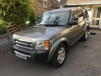 Land Rover Discovery - 7 -seat - TDv6 GS - Grey - Manual with full black leather and Privacy Glass