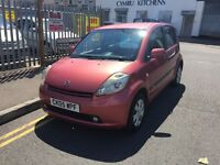 Daihatsu sirion low miles 12 months MOT,05 reg good condition, px welcome