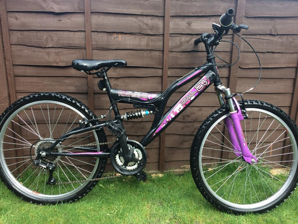 Girls Townsend mountain bike