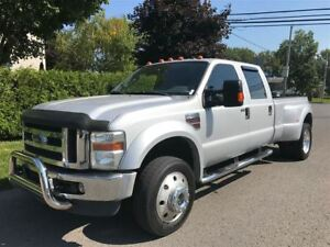 2008 Ford F-450 DOUBLE ROUES LARIAT DIESEL 4X4 TOIT $15900