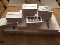 iPhone and iPad boxes