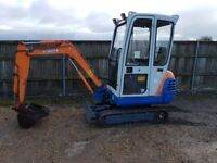 Kubota KX41-2 1.5 tonne mini digger. Expanding tracks two speed. Really nice machine.
