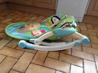 Baby to Toddler Rocker Seat Up To 18kg (40lbs)