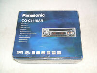 AS NEW BOXED PANASONIC CAR STEREO CD AUDIO PLAYER RECEIVER. CAR WRITTEN-OFF ONE WEEK AFTER FITTING!
