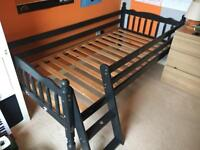 Child's Single Wooden Bed