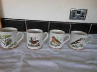 Denby Bird Mugs