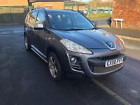 2008 Peugeot 4007 2.2 Hdi GT 7 Seater Grey