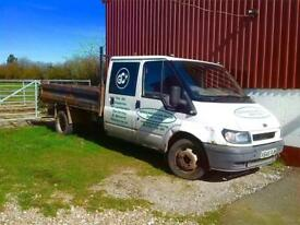 Transit mk6 crew cab tipper breaking for spares/parts