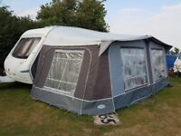 2005 4 berth Abbey Aventura Touring Caravan