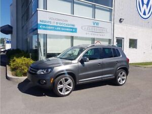 2014 Volkswagen Tiguan HIGHLINE R-LINE CUIR, TOIT OUVRANT PANO,