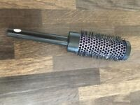 Hair Brush with wire bristles, great for blow drying.