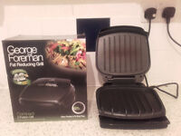 George Foreman 2 Portion Compact Portable Health Grill – 7£