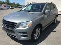 MERCEDES BENZ ML350 BLUETEC 4 MATIC + CUIR/GPS/TOIT/MAGS/GARANTI
