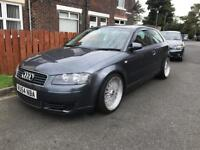 Audi a3 2.0tdi 140bhp long mot timing belt done 54plate coilovers bbs reps now on ebay