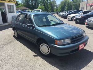 1994 Toyota Tercel DX/ AUTO/AIR/LOW LOW KMS/ DRIVES LIKE NEW