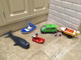 PLAYMOBIL City vehicles and figures