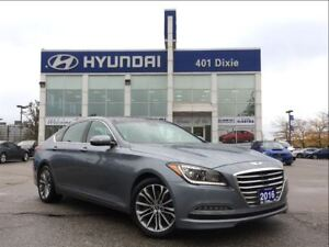 2016 Hyundai Genesis 3.8|AWD|LUXURY|LEATHER|SUNROOF|NAVI
