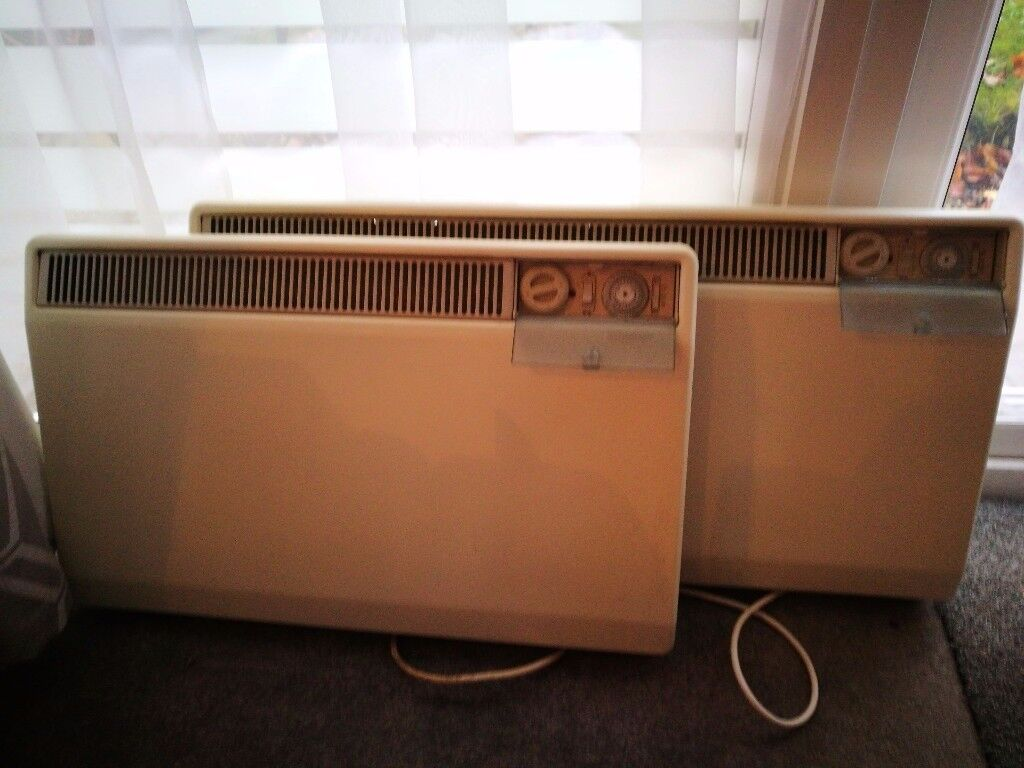 Dimplex electric wall heaters x 2