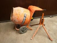 Cement mixer electric (like photo but better)