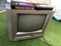 "Matsui 14Tvdvr1 14"" Tv VHS DVD Colour CRT Retro Gaming Monitor"