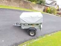 Trailer high frame and cover for Erde 102, Daxara 107 and Maypole MP6810. In excellent condition.