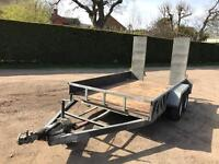 Indespension 3.5 tonne 10x6 plant trailer