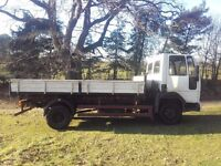 FORD CARGO 0811 LORRY-RESTORE, EXPORT, SCAFFOLDING, FARM USE. NO VAT