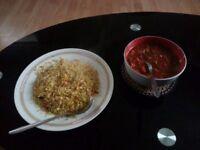 Home Made Food Service Tiffin Service Halal food