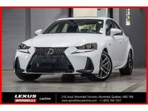 2018 Lexus IS 300 F SPORT I AWD; CUIR TOIT CAMERA LSS+
