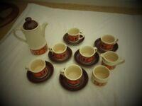 1970's Sadler Coffee Set