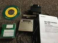 Sony mini disc player