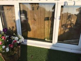 White PVC Double Glazed Window 2.10x 1.6