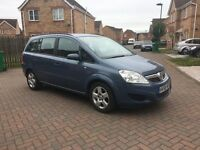 VAUXHALL ZAFIRA 1.6, MILEAGE 49000, FULL 12 MONTHS MOT, JUST SERVICED, HPI CLEAR