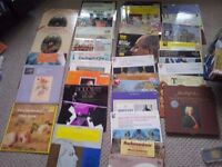 joblot classical albums all in mint condition some very rare