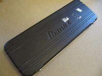 ibanez hardshell guitar flight case (damaged)