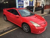 Toyota Celica 1.8 VVT-i 3dr- 1 YR MOT-GOOD DRIVE- NEAT AND CLEAN- QUICK SALE- £750