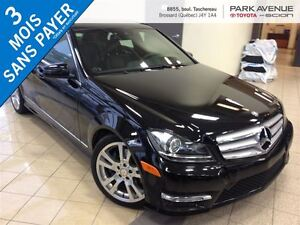 2013 Mercedes-Benz C-Class 350 4MATIC*TOIT OUVRANT*GPS*0ACCIDENT