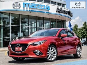2014 Mazda Mazda3 Sport GT-Navi, Back Up Cam, White Lthr, Heated