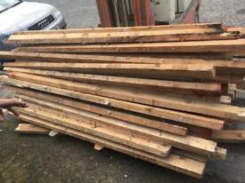 3x2 and 4x2 timbers