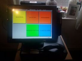 EPOS CASH REGISTER ,IDEAL FOR A RETAIL SHOP, ONLY 2 YEARS OLD.